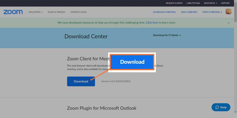 Download and Install the Zoom