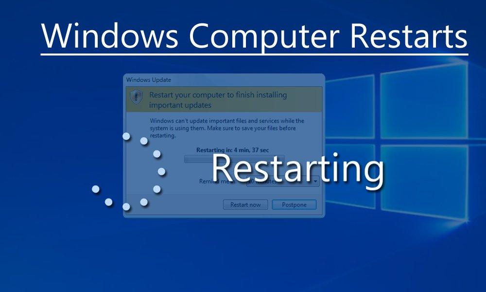 Window restarts