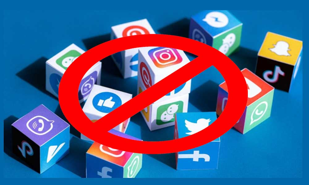 Why Social Media is Banned