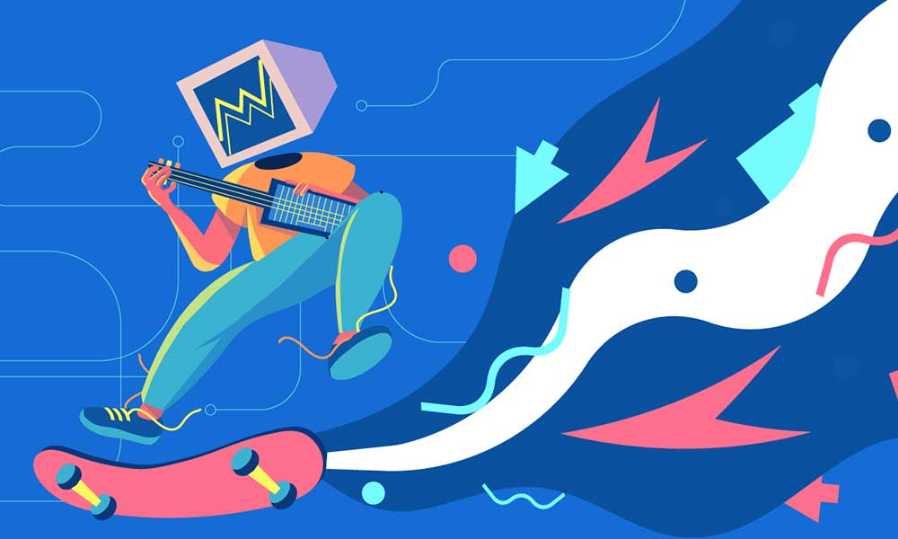 A Story with Motion Graphics