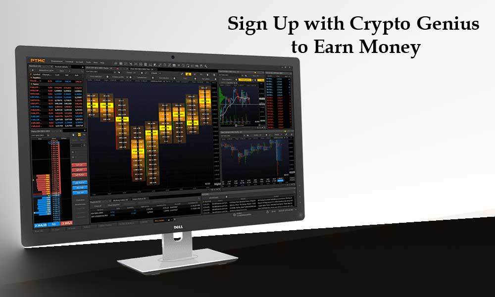 Sign Up with Crypto Genius to Earn Money
