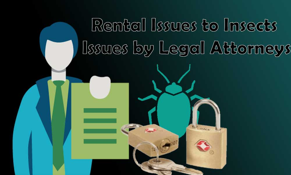 Rental Issues to Insects Issues by Legal Attorneys
